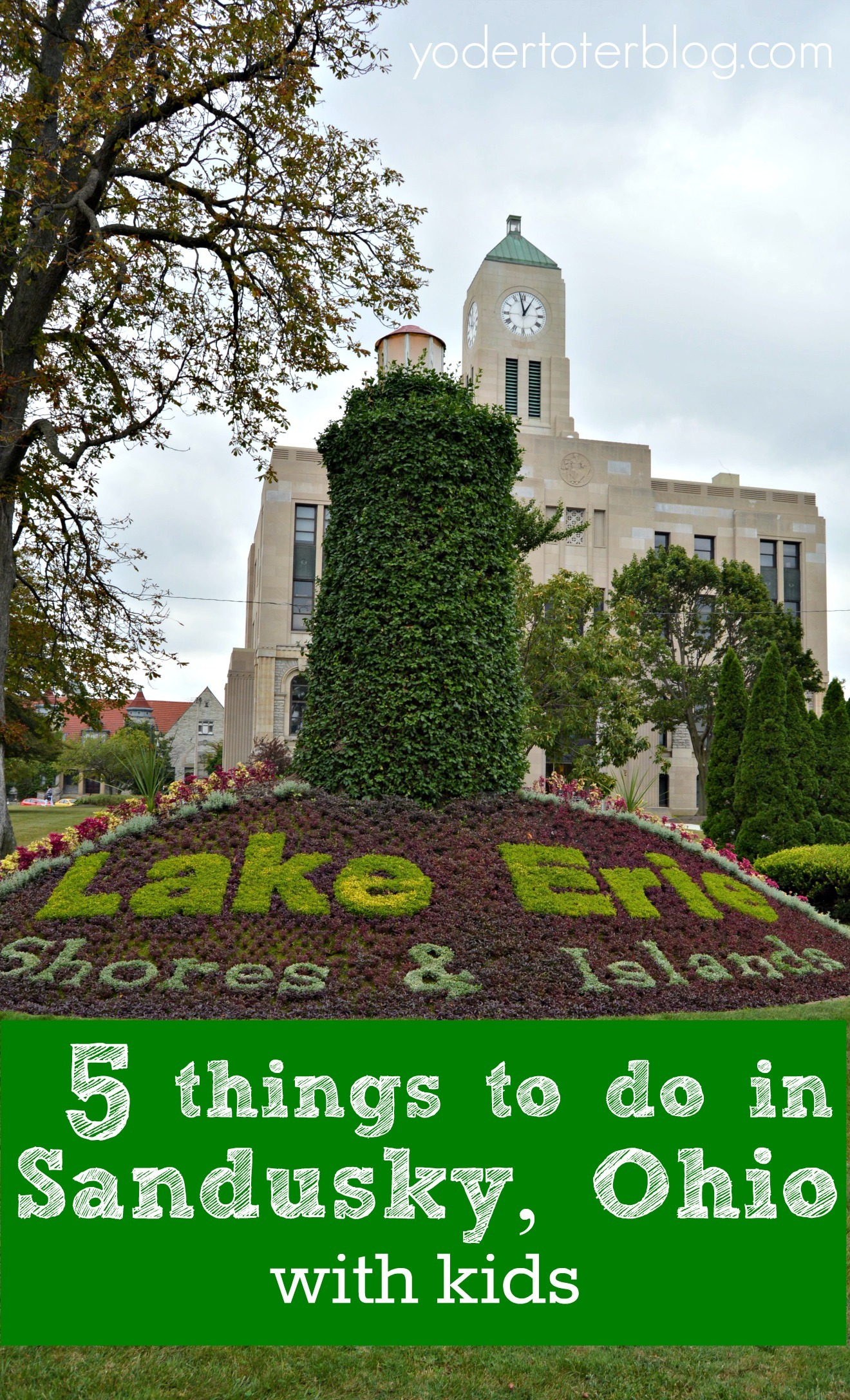 Things to do in Sandusky, Ohio that aren't Cedar Point! Make sure you venture into town and find the points of interest that will wow your family. Sandusky is so much more than rollercoasters!