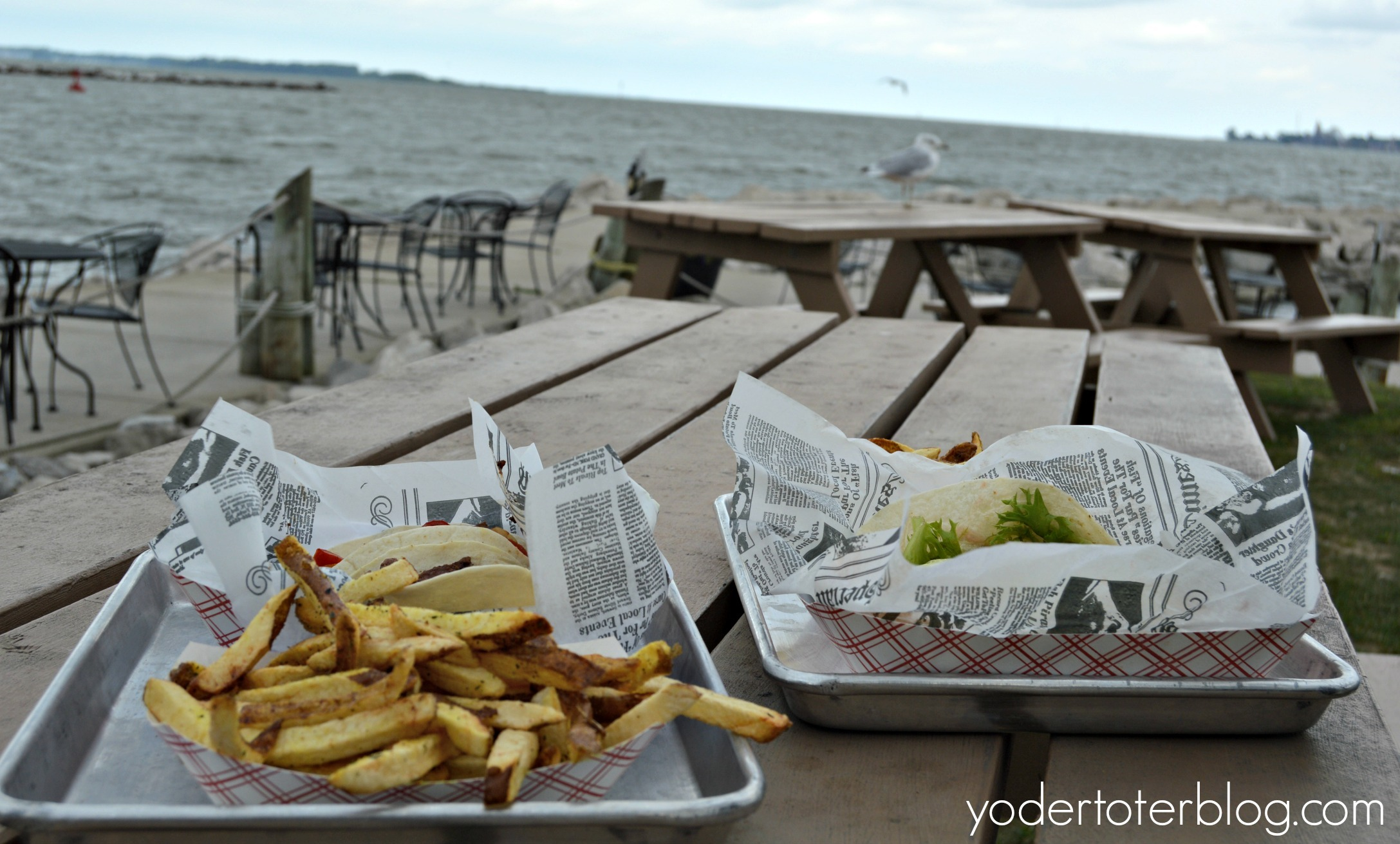 Things to do with kids in Sandusky- Dockside Cafe
