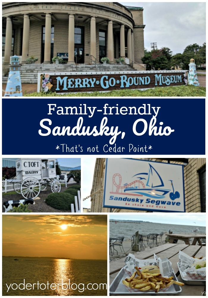Things to do in Sandusky, Ohio that aren't Cedar Point! Make sure you venture into downtown Sandusky and see all the points of interest.