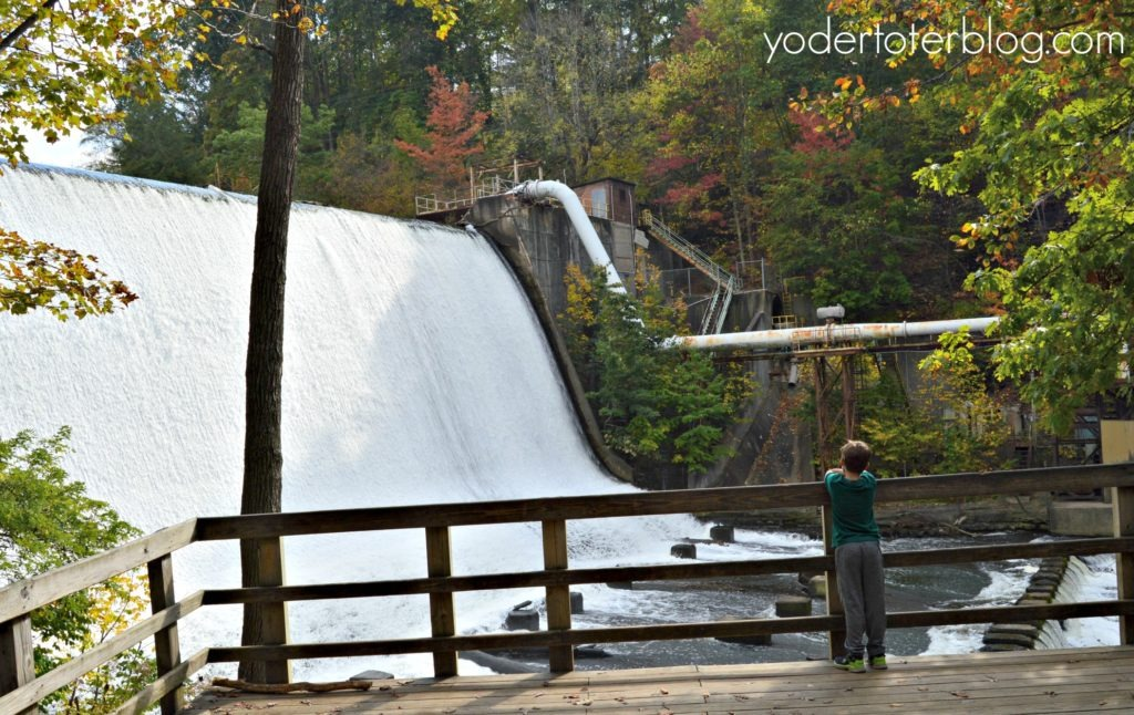 Summit Metro Parks- Best hike in Northeast Ohio - The Dam at Gorge Metro Park