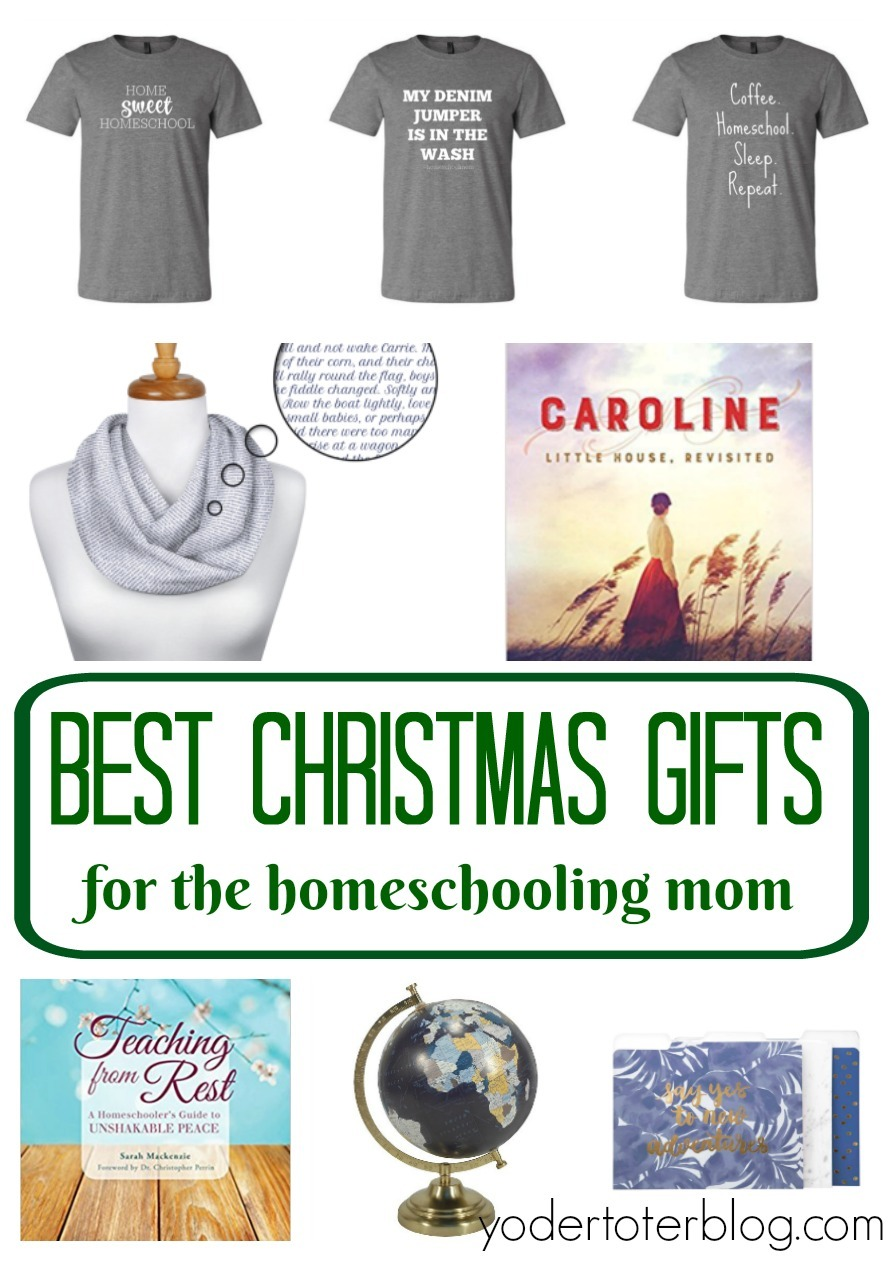 Here's a curated list of the best Christmas gifts for the homeschool mom.  Find the things that will make mom happy and help her day go better!