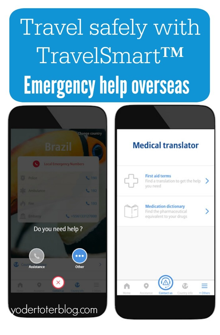 The TravelSmart App from Global Allianz allows you to view your travel insurance policy, get emergency help at the touch of a button, and file a claim directly from your phone.   It even has a medical translator for common drug names and first aid help phrases.  You'll never travel alone.