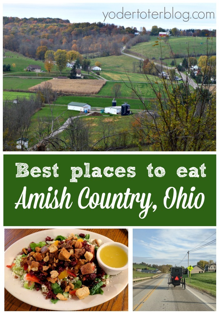 The best places to eat in Amish Country, Ohio - Here's my list of the best restaurants in Amish Country - not just the tourist favorites! Many of these are where the locals go.