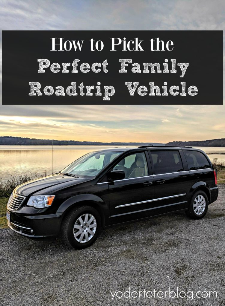 How we chose our perfect family road trip vehicle. Yes, we went with another minivan- and here are the factors we considered.