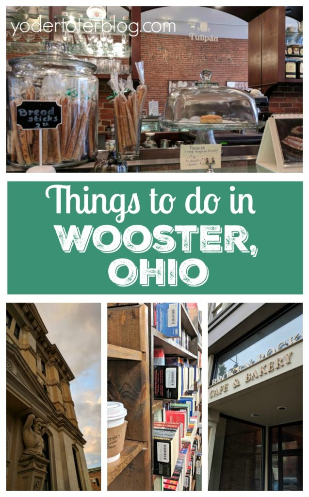 Things to do in Wooster, Ohio. Where to eat, shop, and drink coffee. Wooster, Ohio is home to the College of Wooster and full of things to do for the whole family.