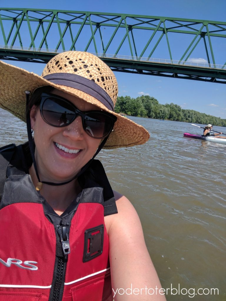Kayaking on the Ohio River - The best and worst of 2017