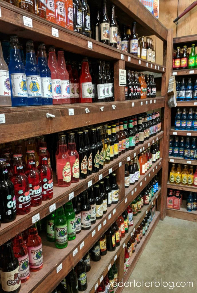Fabulous food finds in Wayne County, Ohio - stop by Lehman's for 300 kinds of soda.
