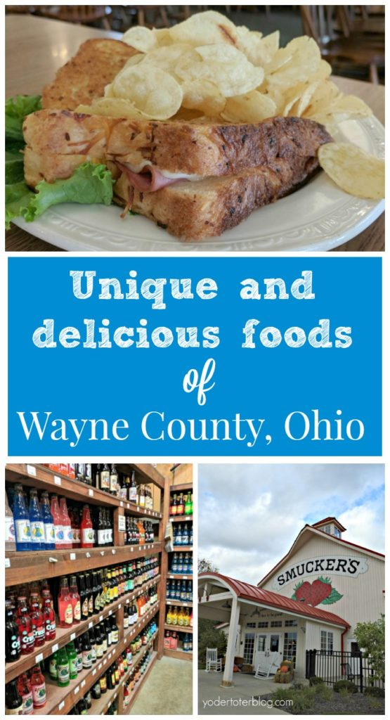 Fabulous foods of Wayne County, Ohio - what to eat while visiting Wayne County, Ohio. There's more to offer than just Amish foods, although you'll want to try those, too! How about 300 kinds of soda or the most amazing donuts?