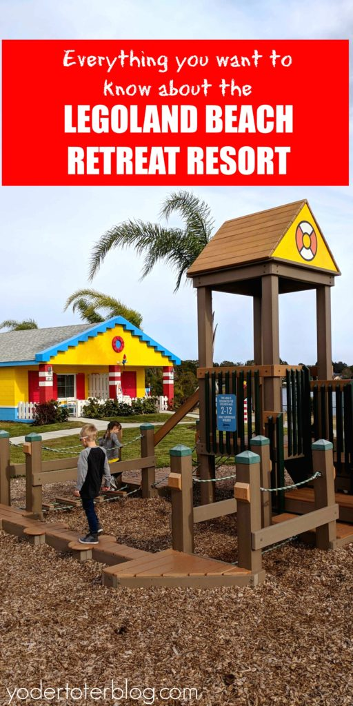 A stay at the LEGOLAND Beach Retreat Resort. Florida.  A review from Mom of 3 and travel blogger on the ins and outs of staying at the LEGOLAND Beach Retreat Resort.