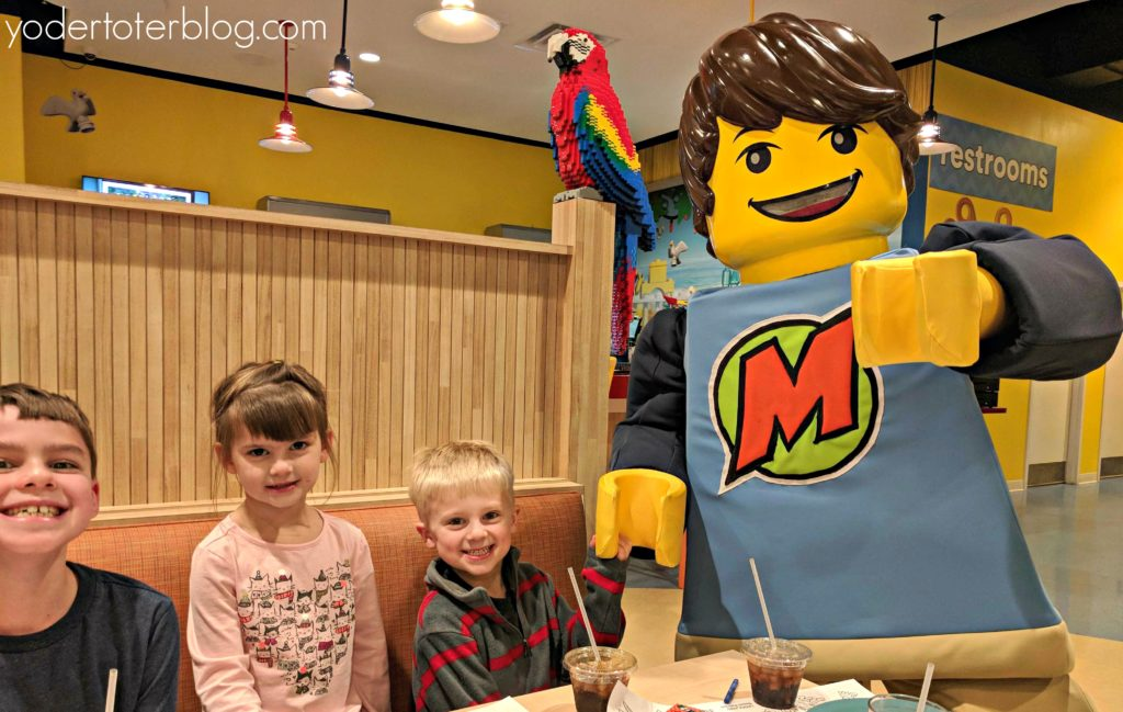 A stay at the LEGOLAND Beach Retreat Resort. Meals at the Lighthouse include time with Max. This was a highlight for our children and showed added value for staying on-site.