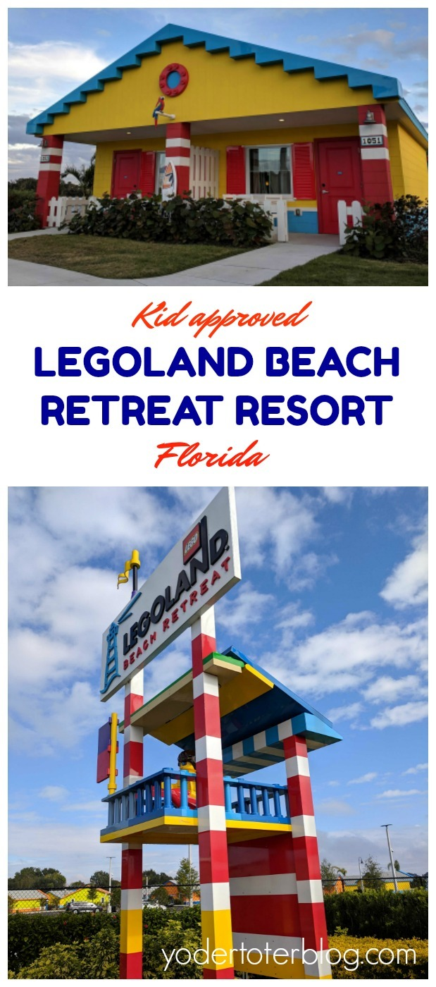 A stay at Legoland Beach Retreat Resort in Florida is a fun escape for LEGO-loving kids and their fun parents! Here I share the pros and cons of staying on-site.