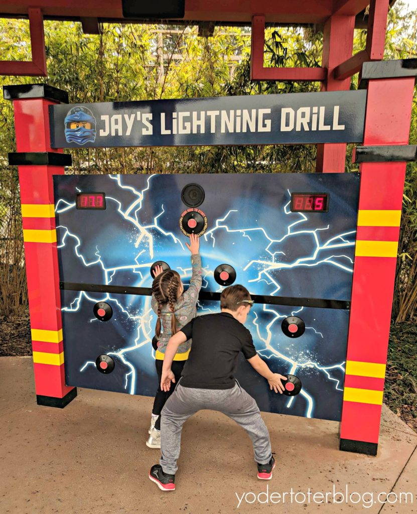 LEGOLAND Florida is the theme park with perfect attractions for young children. The new LEGO NINJAGO WORLD was a hit with our family.