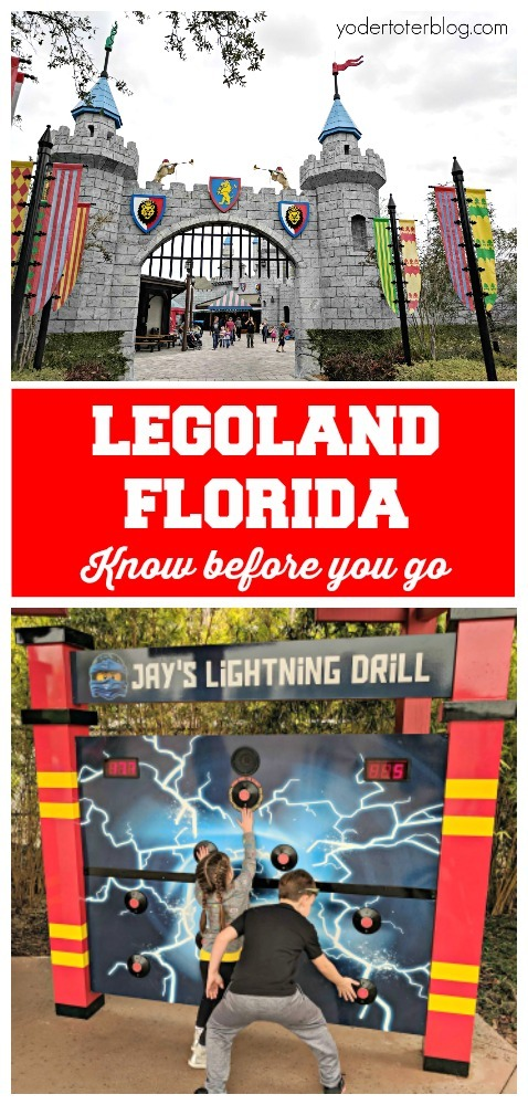 LEGOLAND Florida with kids.  Things to know before visiting LEGOLAND Florida, plus tips for if you go!  #travelwithkids #familytravel #lego #legoland