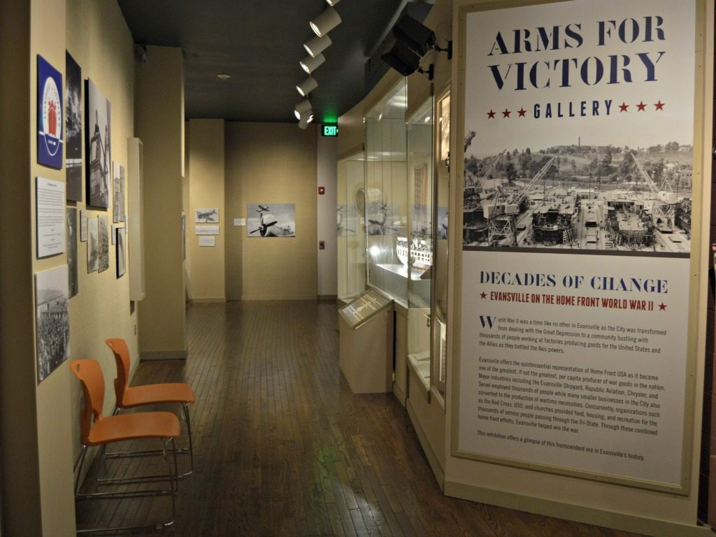 Things to do in Evansville, IN - The Evansville Museum exhibit on the LST and Evansville's role in WWII