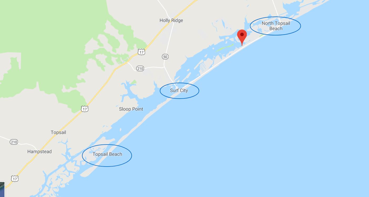 trip guide to topsail island north carolina yodertoterblog