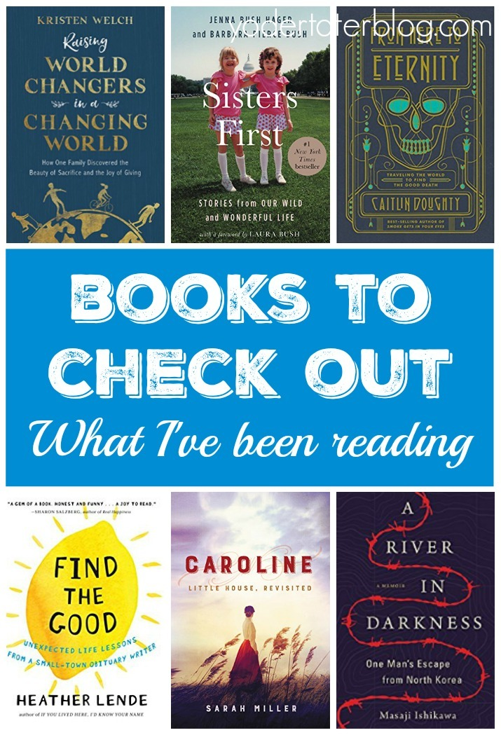 Books to check out in May 2018-- what I've been reading - Recommendations on what to read.