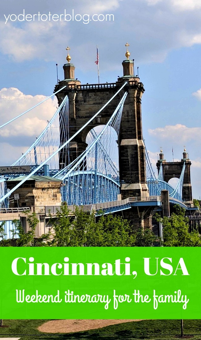 A perfect summer weekend in Cincinnati, Ohio - Fun things to do in Cincinnati with the family!