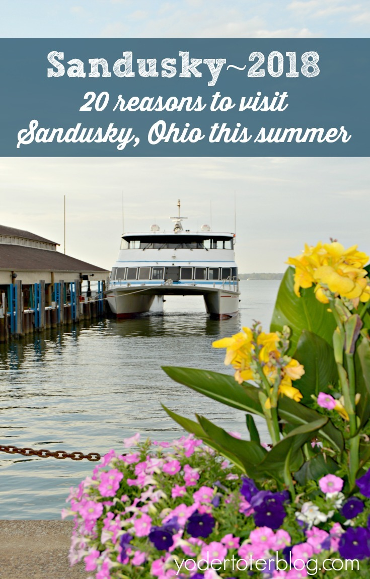 20 things to do in Sandusky, Ohio this summer.  Sandusky is celebrating it's Bicentennial in 2018 and you won't want to miss all of the special events that are scheduled!  Bring the entire family to Sandusky.