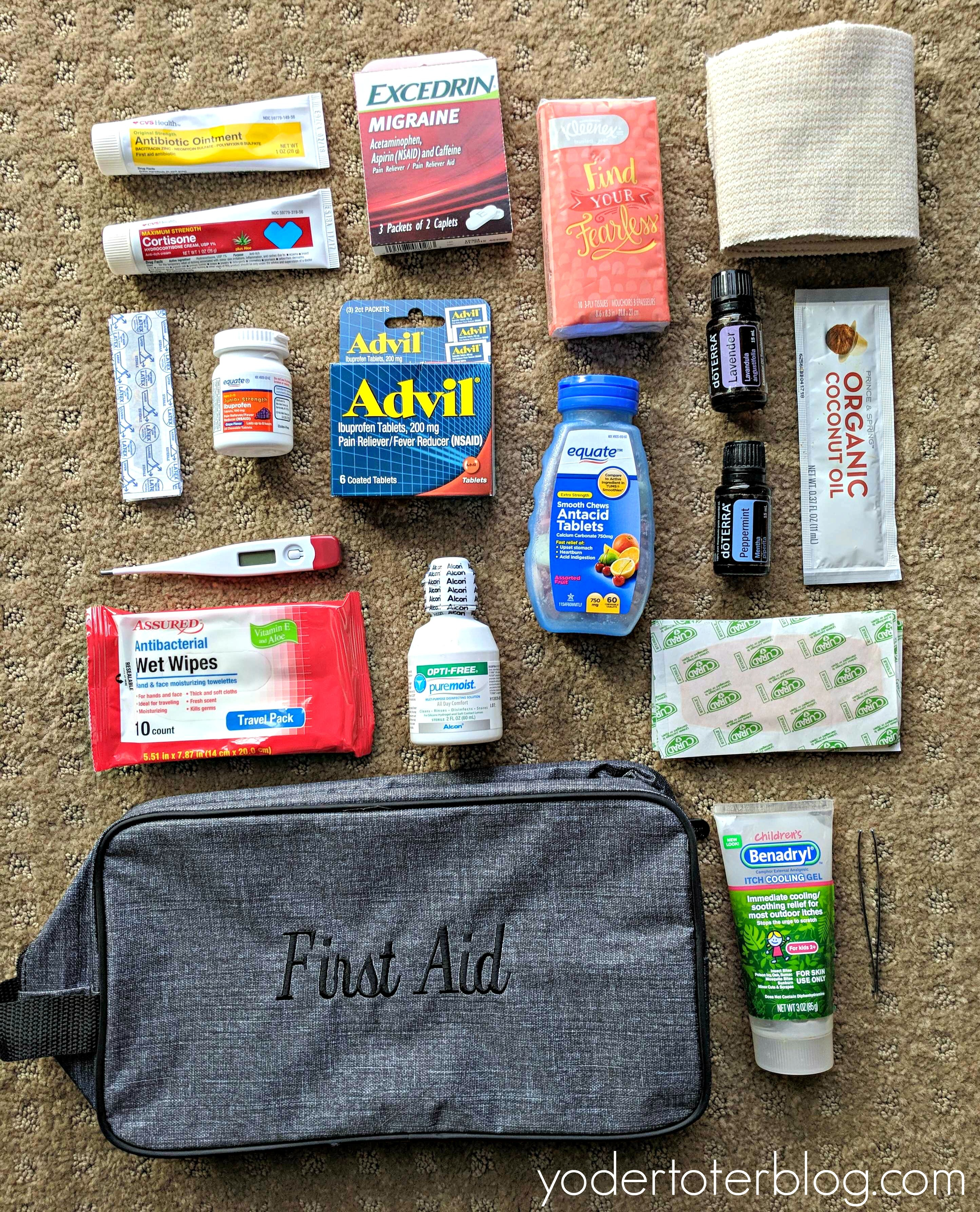 Packing A First Aid Kit For International Travel Yodertoterblog