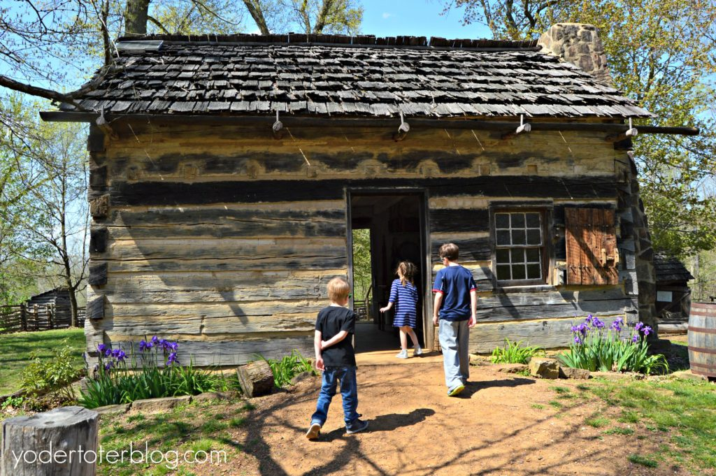 Lincoln Boyhood Home- Lincoln City, Indiana - 1820s homestead and working farm shows how Abraham Lincoln lived during his early years