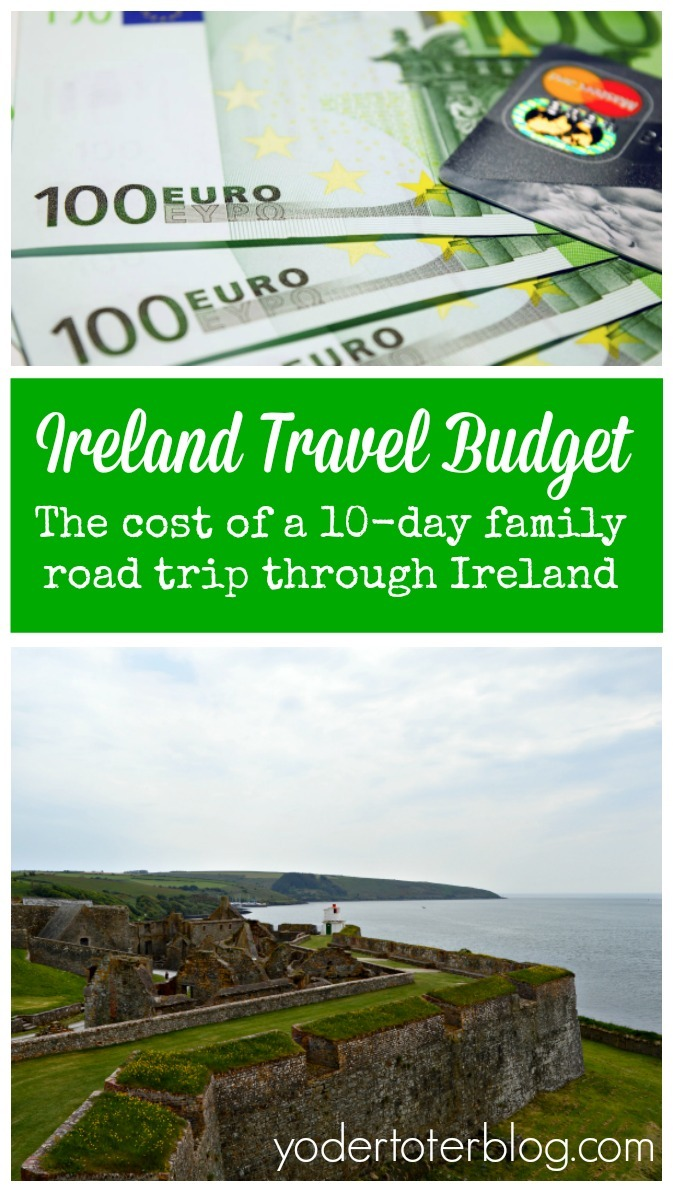 The cost of a 10-day road trip through Ireland. Ireland travel cost. Travel to Ireland on a budget, road trip budget,