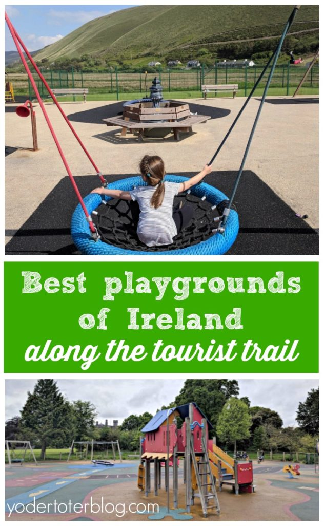 Make your trip to kid-friendly Ireland even better by stopping at the playgrounds of Ireland. Best playgrounds to visit while traveling Ireland with kids.