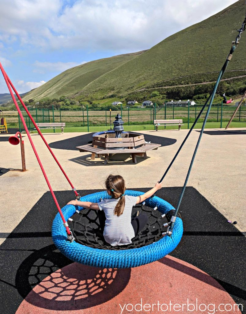 playgrounds of Ireland, Ireland with kids, kid-friendly Ireland