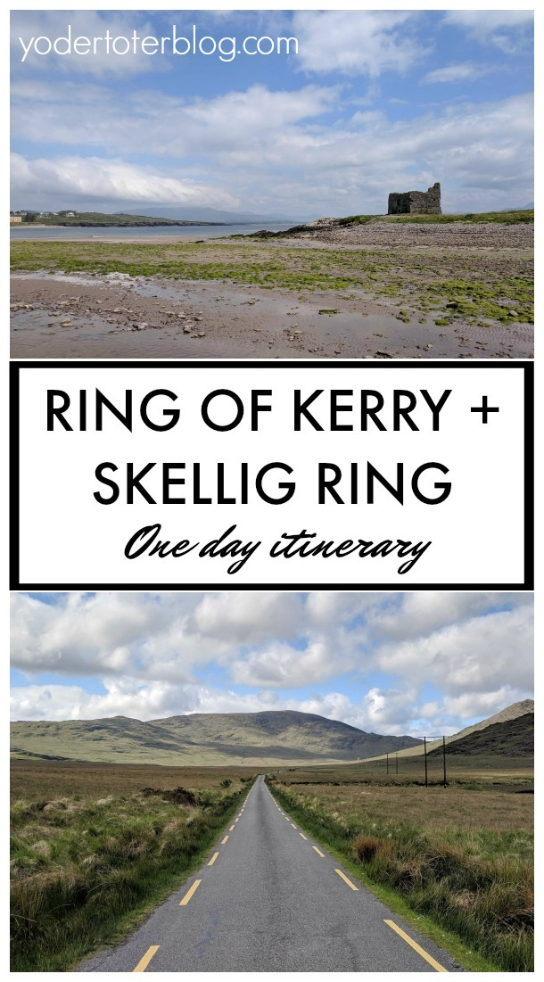 It's possible to do the Ring of Kerry in one day! Here's our one day itinerary for stops along the Ring of Kerry & Skellig Ring.