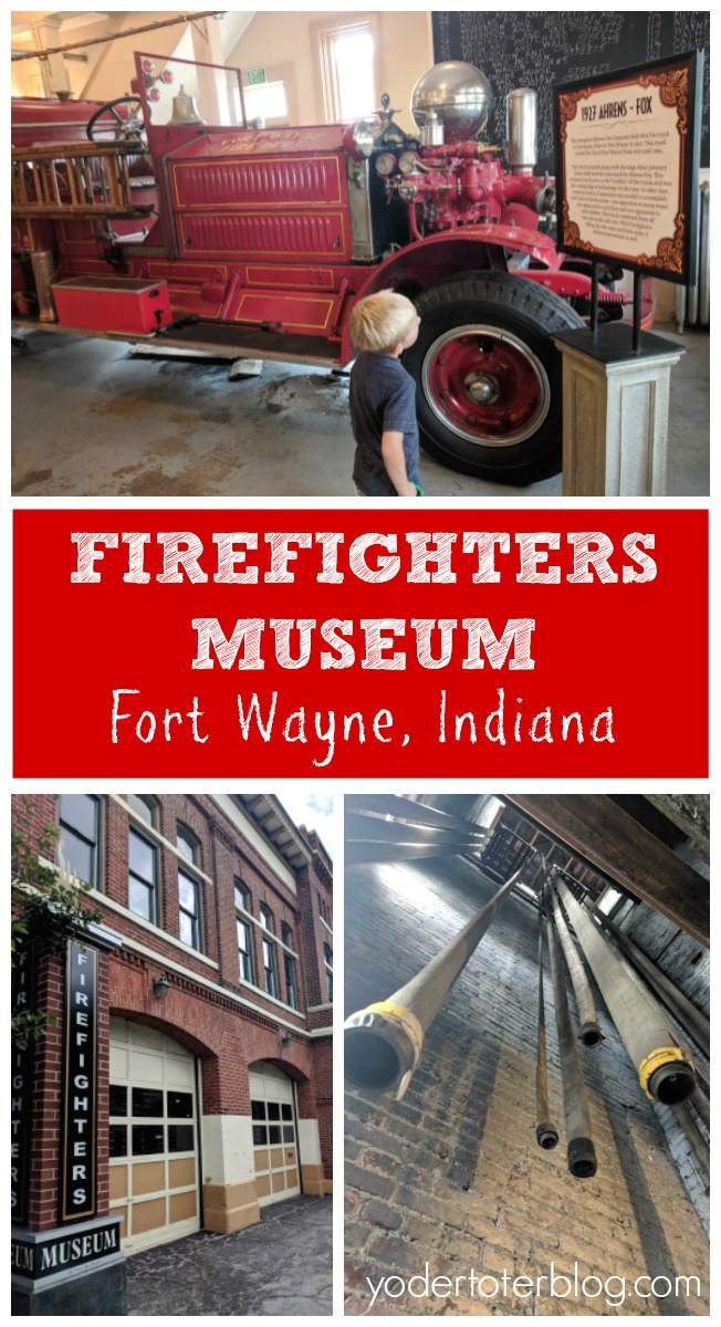 Fort Wayne Firefighters Museum. Things to do in Fort Wayne, Indiana. The Firefighter Museum is great for all ages, but particularly important for kids to visit so they can learn about Fire Safety.