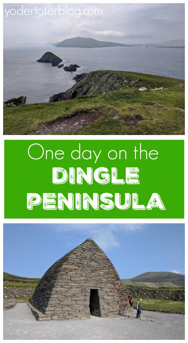One day on the Dingle Peninsula and Slea Head Drive, Ireland- The stops to take and tips for if you do. #Ireland #familytravel