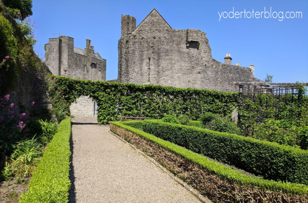 Things to do in Tipperary, Ireland for families - Roscrea Castle- The castle's courtyard and gardens are free to visit.