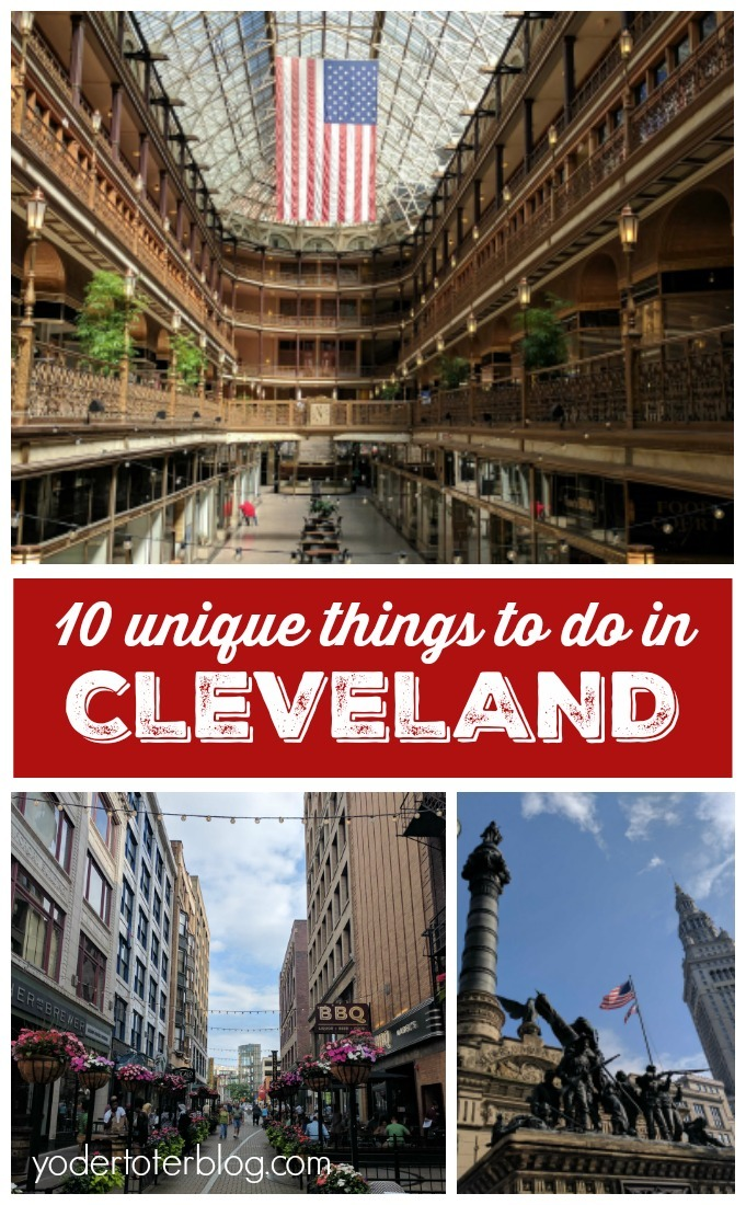 10 things to do in Cleveland - inspiration from the book 100 things to do in Cleveland before you die! #thisisCLE