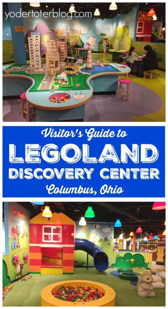 All about visiting LEGOLAND Discovery Center in Columbus, Ohio! This is a great thing to do for families in Central Ohio and beyond. Here are my tips for if you go. #legoland #columbusohio