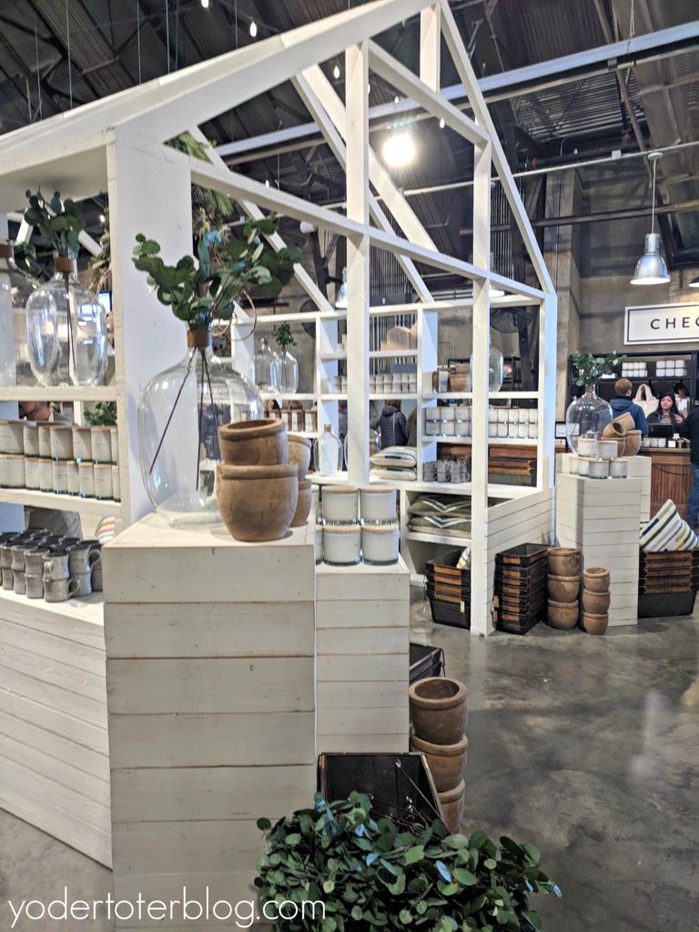Visiting Magnolia Market in Waco, Texas.