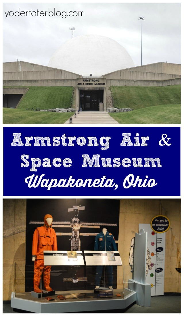 A visit to the Armstrong Air & Space Museum - Planning a trip to the Neil Armstrong Museum? Here's my tips for if you go.
