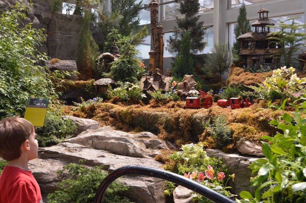 Indoor attractions in Ohio for families.  Things to do in Ohio during winter.  The Franklin Park Conservatory will warm you up in the desert and rainforest environments.