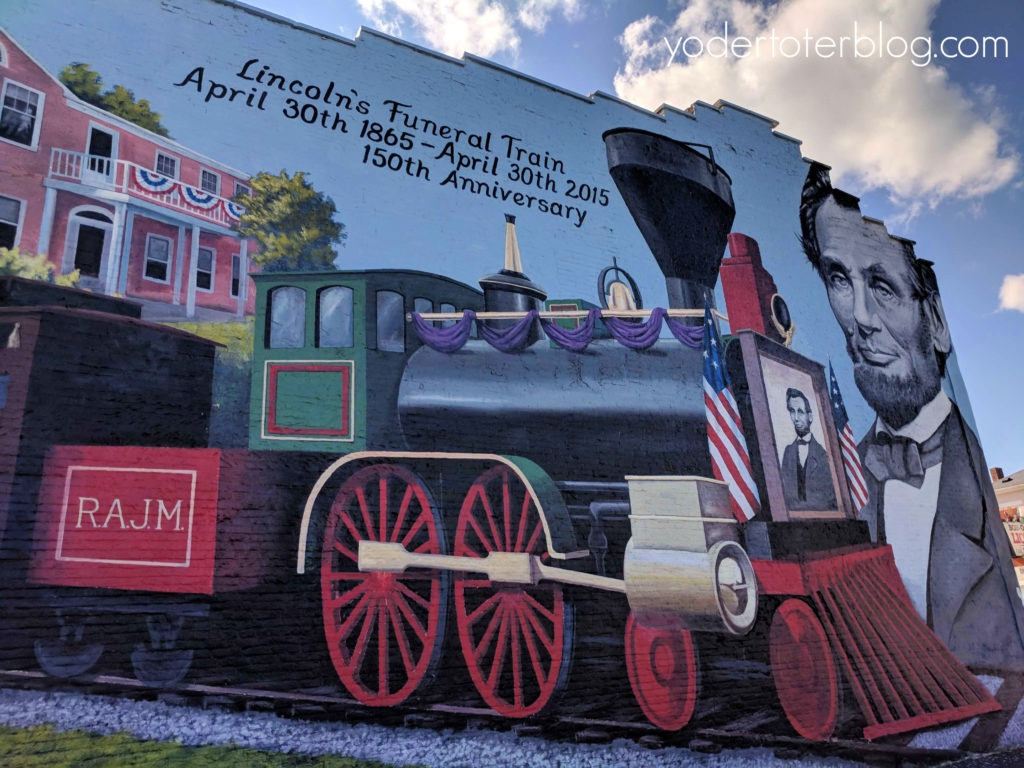 Cambridge City, Indiana.  Murals of Cambridge City, Indiana.