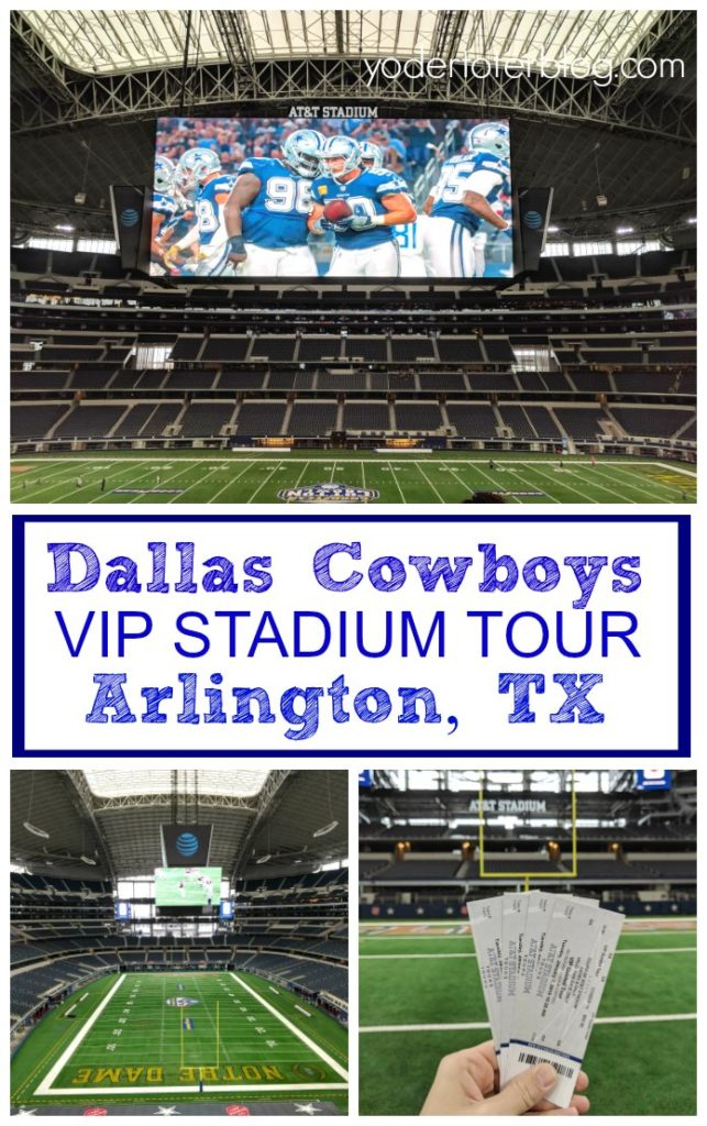 Dallas Cowboys Stadium Tour - AT&T Stadium VIP tour tickets - Things to do in Dallas, Texas - Things to do with kids in Texas