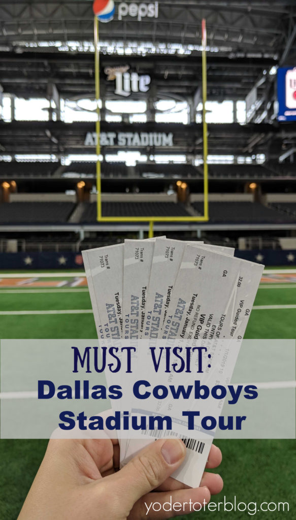 Dallas Cowboys Stadium Tour - AT&T Stadium VIP tour tickets - Things to do in Dallas, Texas