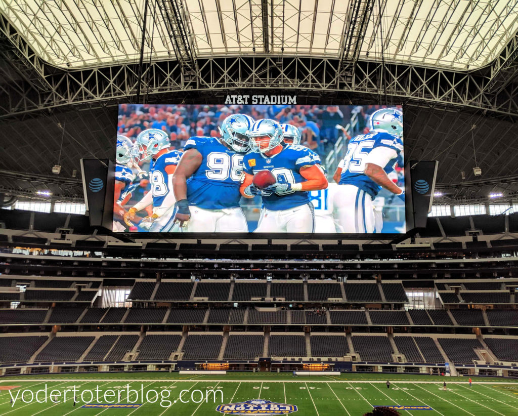 Top Go big or go home A VIP tour of AT&T Stadium yodertoterblog