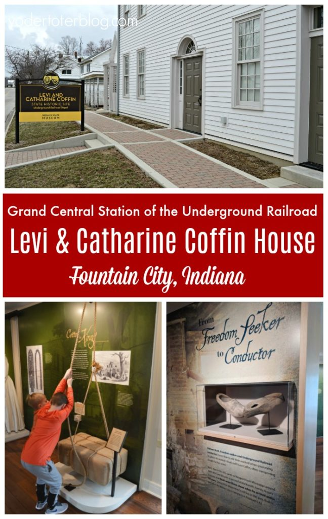 What to expect before visiting the Levi Coffin House -   Levi & Catharine Coffin State Historic Site in Fountain City, Indiana.  The Levi Coffin House was known as Grand Central Station of the Underground Railroad.