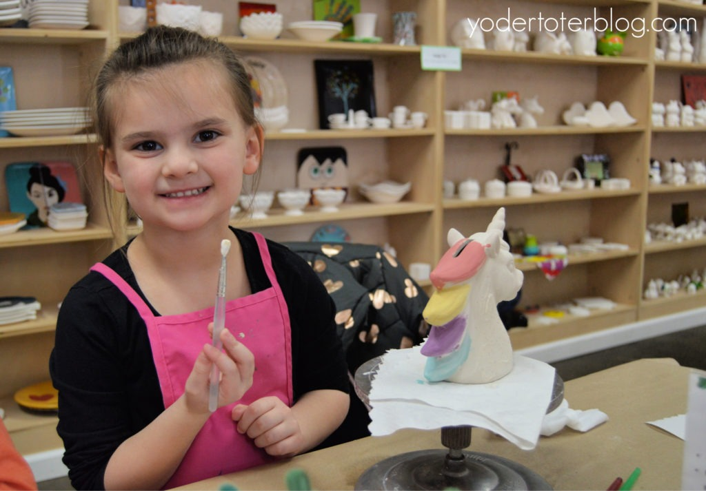 Things to do in Richmond, Indiana.  Paint the Towne offers pottery painting that the entire family will enjoy.