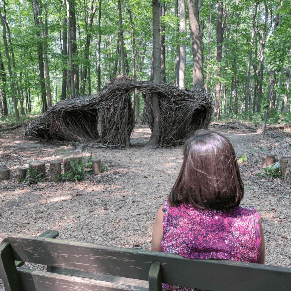 Free things to do in Ohio's Amish Country with kids - Holmes County Open Air Art Museum is a must visit experience on the grounds of the Inn at Honey Run.