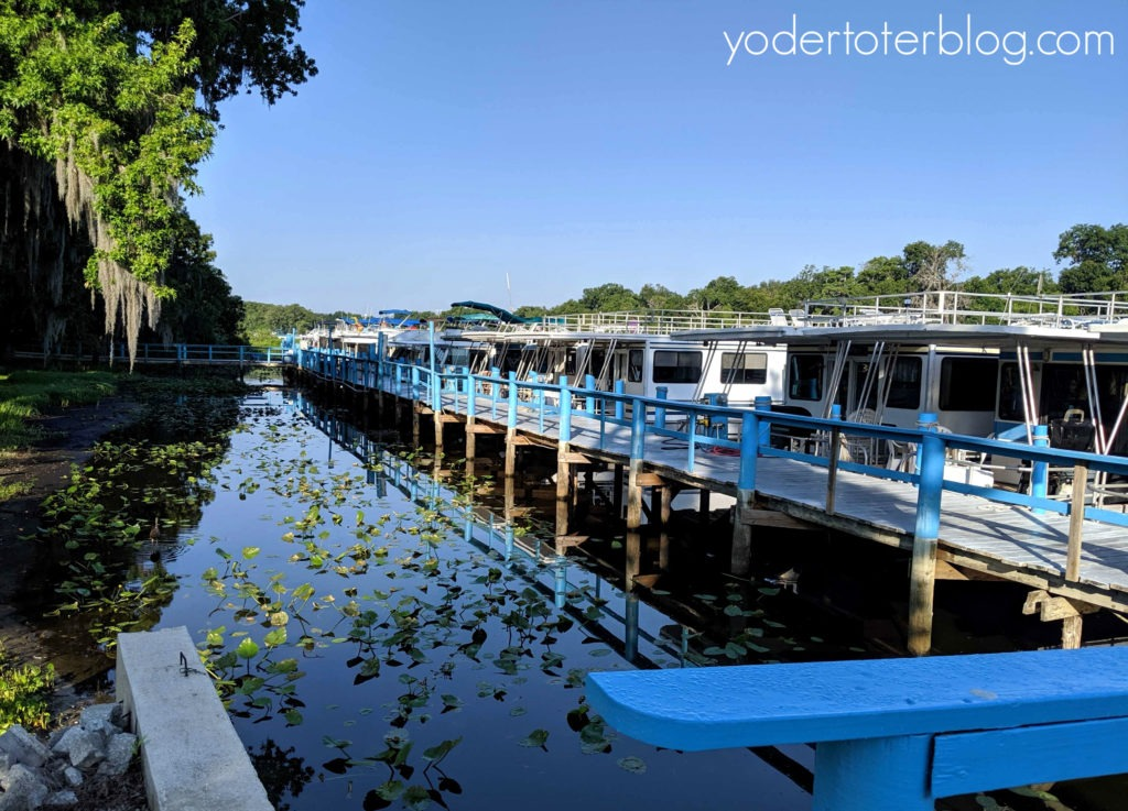 Visit Old Florida on the St. Johns River and River of Lakes Corridor.  Book a Florida houseboat rental and enjoy scenic drives.