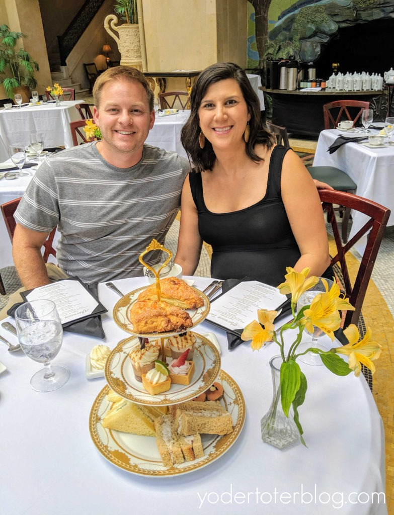 A romantic Afternoon Tea at the West Baden Springs Hotel. French Lick Resort is a romantic resort of the Midwest.  Here are my ideas for having a romantic getaway, or celebrating your Babymoon, at the French Lick Resort!  French Lick Resort, Indiana