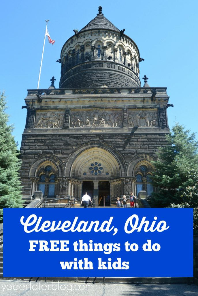 Free things to do in Cleveland with kids.  Visiting Cleveland doesn't have to cost a bunch - here are 6 indoor and outdoor attractions in Cleveland that are perfect for families.