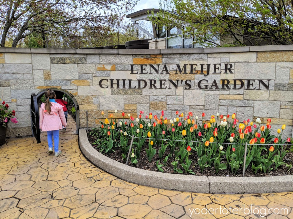 Lena Meijer Children's Garden.  A visit to Frederik Meijer Gardens and Sculpture Park in Grand Rapids, Michigan.  What to expect while visiting plus tips for families with kids.