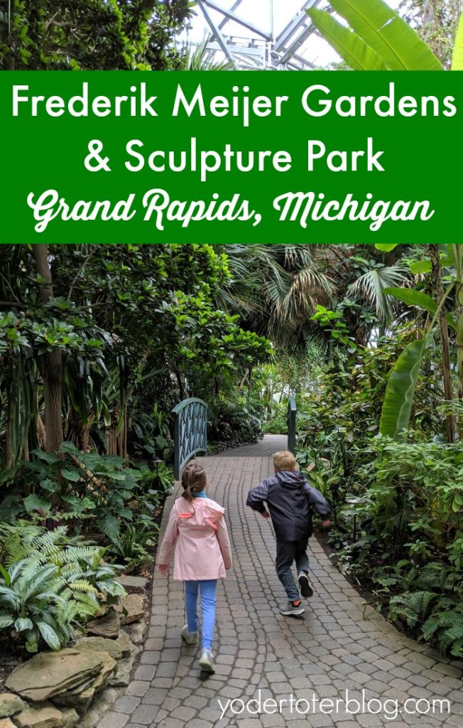 A visit to Frederik Meijer Gardens and Sculpture Park in Grand Rapids, Michigan.  What to expect while visiting plus tips for families with kids.