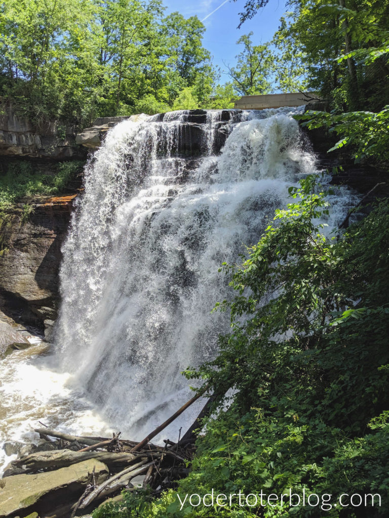 Brandywine Falls, within Cuyahoga Valley National Park.