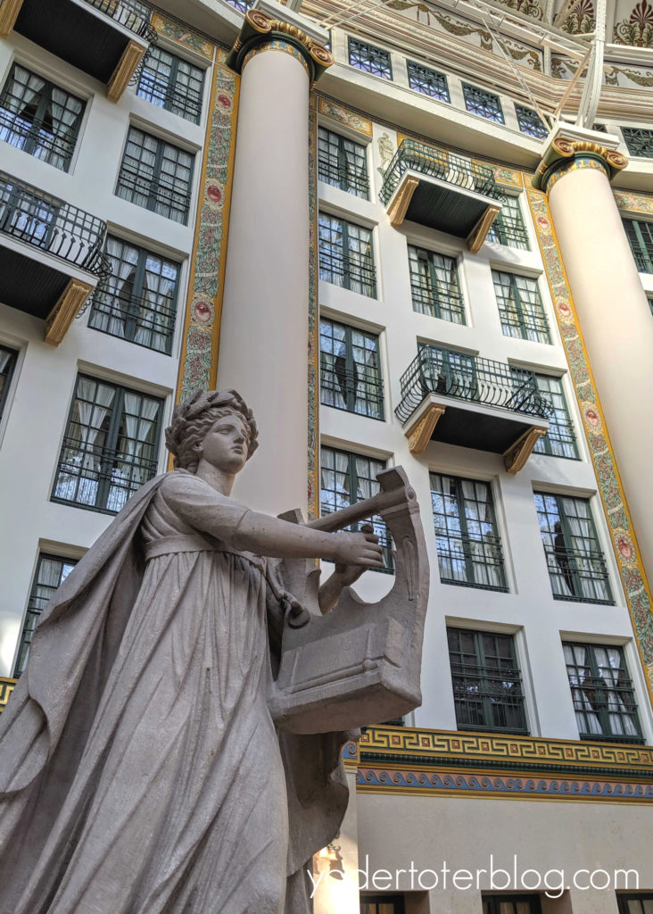 West Baden Springs Hotel. - one of two hotels for the French Lick Resort.  Romantic Getaway of the Midwest.  Babymoon idea for the midwest.